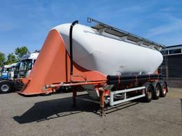 feed semi trailer SPITZER BBS F28 EUT 39m³ SAF-Assen - Schijfremmen - ALU (O635) 2000