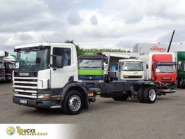 chassis cab truck Scania 94D 230 + Manual + Dhollandia Lift 2004