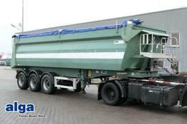 tipper semi trailer MOL ANDERE MOL KS812, Alu, 35m³, Plane, Luft, Alu-Chassis 2009