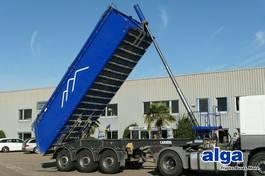 tipper semi trailer Carnehl CHKS/A, Alu-Mulde, 24m³, Scheibe, Liftachse 2012