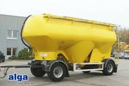 tipper semi trailer Feldbinder HEUT 31.2, 4 Dommdeckel, 31m³, Alu-Felgen, Luft 2006