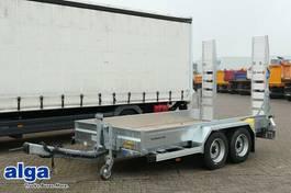 lowloader semi trailer Humbaur HS 654020 BS, 4.000mm lang, Rampen, verzinkt