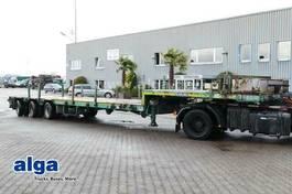lowloader semi trailer Goldhofer STZ-L3.29/80A, Alu-Rampen, ausziehbar, gelenkt 2009