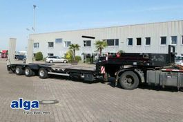 lowloader semi trailer Langendorf SATUE 30/38, 2x Radmulde, 13mtr. lang, Rampen 2011