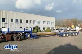 lowloader semi trailer Goldhofer STZ-L5-58/80 A, 5-Achser, ausziehbar, gelenkt 2009