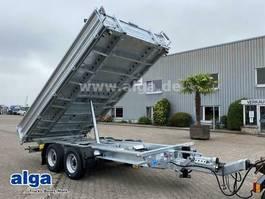 drop side full trailer Humbaur HTK 105024, mit Rampen, verzinkt, Tieflader