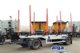 timber trailer Schwarzmüller HF 2/Z, Holzanänger, Rungen, Exte, BPW-Achsen 2005