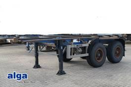 chassis semi trailer Blumhardt ANDERE, 20 Fuß, Blattfederung, Trommelbremsen 1988