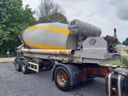 concrete mixer semi trailer Liebherr SF36BM 2 axles bpw