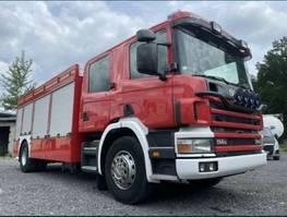 other trucks Scania P340 4X2 Firetruck 2001