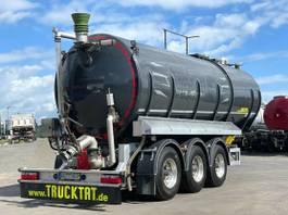 tank semi trailer semi trailer KAESSBOHRER V2A Gülle 30 m³, Vogelsang, nur 5,8 to. Leer 2021