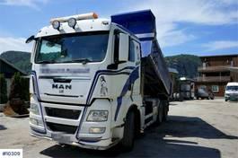 tipper truck > 7.5 t MAN TGX 33 6x4 tipper truck. Steel suspension. 2012