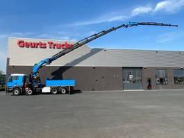 crane truck MAN 35.480 8X4H-6 + PALFINGER PK 150002 G + JIB + WINCH KRAAN/KRAN/CRANE/GRUA 2008