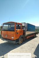 tow-recovery truck Renault S120 Turbo 7.7 ton left hand drive electric winch. 1992