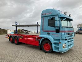 swap body truck Iveco IVECO Stralis veksellad fuld luft Stralis 260E42 6x2/4 2012