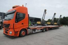 car transporter truck Iveco Stralis 460 6x2 Euro 6 2014