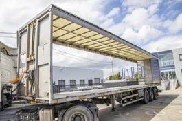 tilt semi trailer Lecitrailer PLATEAU+TOIT REHAUSSABLE (Chariot Embarquer) 2010