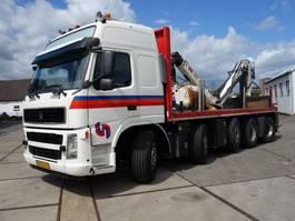 drop side truck Volvo terberg 2850 met kraan en rijfunctie op kraan 2010