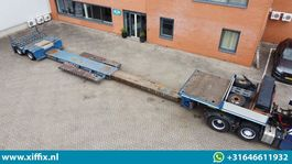 lowloader semi trailer Faymonville 2-ass. Uitschuifbare dieplader met afneembare zwanenhals 2014