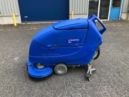 road sweeper Nilfisk Scrubtec 886, schrobmachine, accu 2017