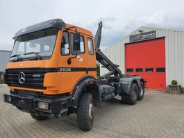 container truck Mercedes-Benz 2638AK 6x6 Manual gearbox 1995