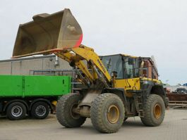 wheel loader Komatsu Radlader WA 380-6 Radlader Deutsch 8.400h 2012
