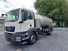tank truck MAN TGS 18 - citerne en inox isotherme-2 compartiments