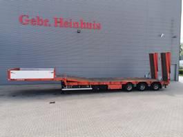 semi lowloader semi trailer Goldhofer Hangler 3 STZL 30 Winch Ramps Bridge Powersteering! 2010