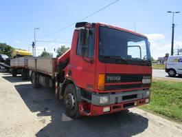 platform truck DAF CF 75 CF FA mech.pump 2000