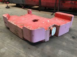 other equipment part Terex Demag Counterweight 10 ton left
