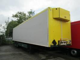 closed box semi trailer Krone 2-Achs ISOLIER-Koffer 13,60 m LBW 1,5 T 2009