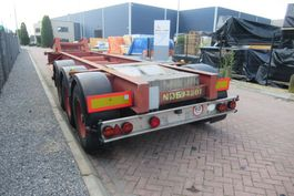container chassis semi trailer MOL Container Chassis / 20FT / ROR + Drum 1985