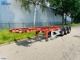 container chassis semi trailer Dennison Container 20 / 30 FT Container system 2001