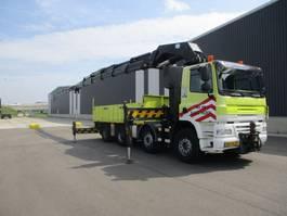 drop side truck Ginaf X 4241 S 8X4 EURO 5 HMF THOR 80 TON METER+FLYJIP 2008