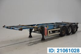 Container-Fahrgestell Auflieger Desot Skelet 20-30 ft 2001