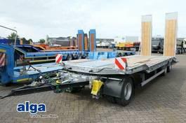 lowloader semi trailer Humbaur HTD 308525 K, verbreiterbar, Rampen, verzinkt