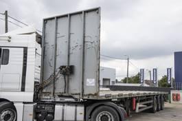 flatbed semi trailer Lecitrailer PLATEAU + Chariot embarquer 2010