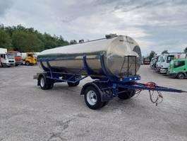 tank trailer MAISONNEUVE -2 axles -spring suspension - 14000L