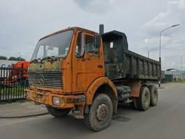 tipper truck > 7.5 t Mercedes-Benz 2626 SK 6x6 / V8 / STEEL / MANUAL / KIPPER !! 1987