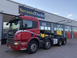 container truck Scania P420 8x4 Juuri Katsastettu 2006