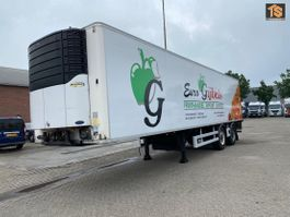 refrigerated semi trailer Chereau Reefer 2 AXLE CITY - CARRIER 1000 - STEERING - LBW - BELGIUM TRAILER 2009