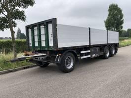 flatbed full trailer Renders 3 asser renders aanhanger liftas met alu borden 2009