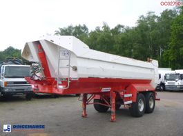 tipper semi trailer Kaiser Tipper trailer steel 24 m3 2007