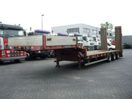 semi lowloader semi trailer Goldhofer STN 13-39/80   3 AXLE LOWLOADER 2009