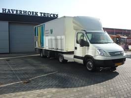 closed box semi trailer Veldhuizen P 31-2A Trailer ** BEAM AND  FAÇADE CLEANING UNIT** 2008