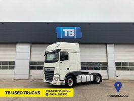 cab over engine DAF XF 480 FT Super Space Cab Intarder Hydrauliek PTO Alcoa Used Radio Lease Airco 2018