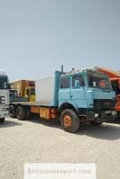 platform truck Iveco Turbostar 190.30 13.8 diesel 10 tyres 26 ton left hand drive. 1989