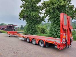 semi lowloader semi trailer Kässbohrer LOWBED  -  UITSCHUIFBAAR  -  EXTENDABLE 2019