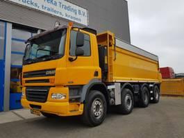 tipper truck > 7.5 t Ginaf X 4241 S Kipper 8x4 geïsoleerd Nwe Apk 2009