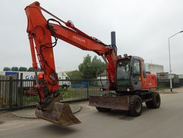 wheeled excavator Hitachi ZX160W 2004